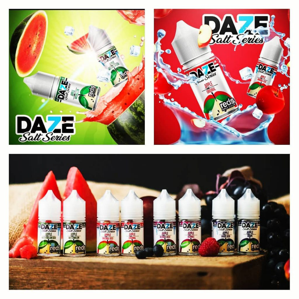 Juice usa 7daze reds apple vị dưa hấu lạnh watermelon