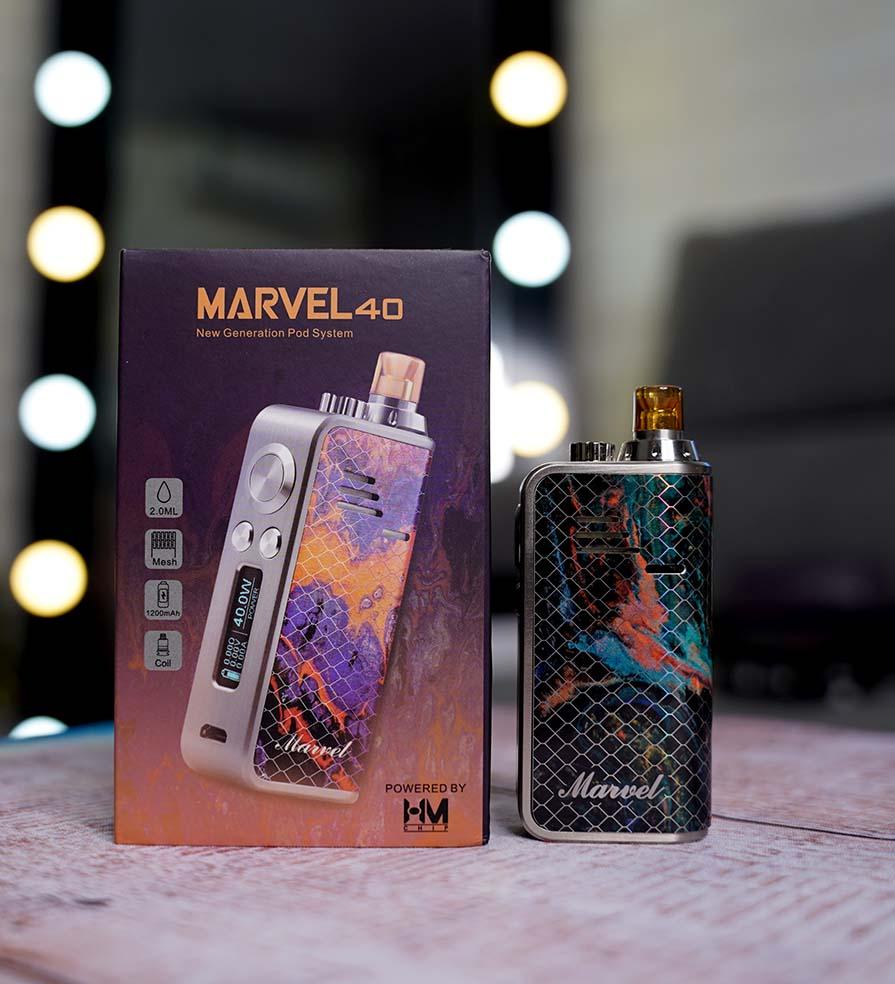 Marvel 40W AIO Pod Starter Kit Hotcig