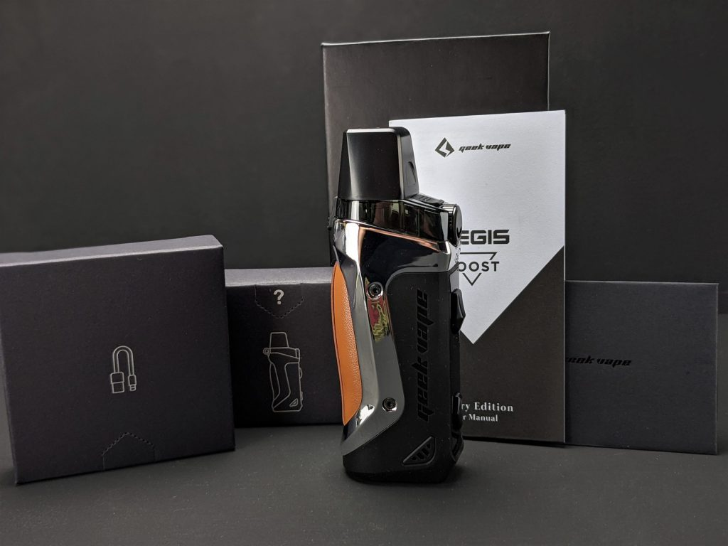 Aegis Boost Luxury Edition Pod system