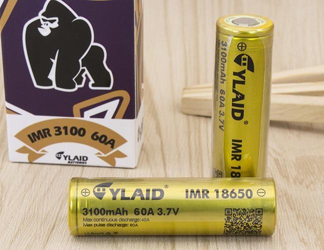 Pin vape 18650 cylaid độ xả và dung lượng cao tuyệt vời