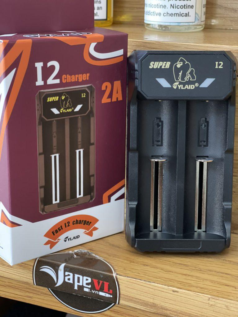 Sạc Cylaid I2 2A vape 2 pin linh kiện cho vape