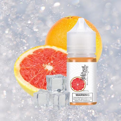 Juice Salt Tokyo Bưởi Siêu Lạnh (Grapefruit) 35MG-30ML