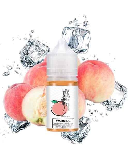 Juice Salt Tokyo Vị Đào Siêu Lạnh (Peach) 35MG-30ML