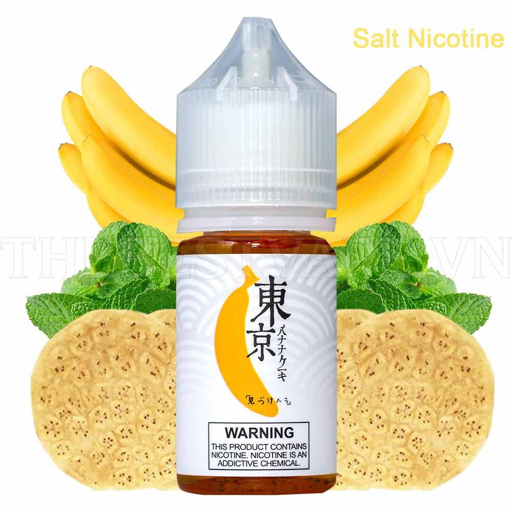 Juice Salt Tokyo Vị Chuối Siêu Lạnh (Banana) 35MG-30ML