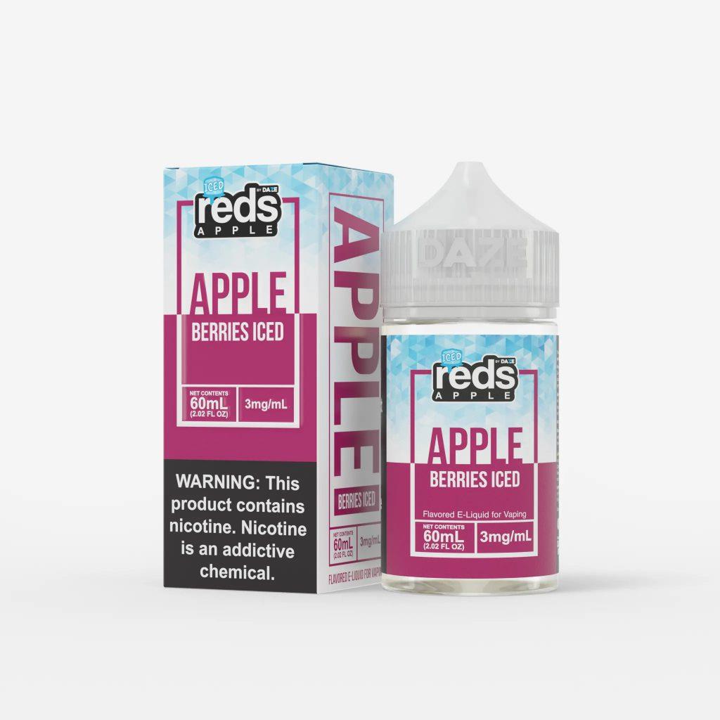 Juice Usa 7Daze Berries iced 60ml (Táo Dâu Rừng Lạnh)