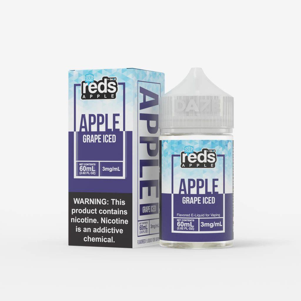 Juice Usa 7Daze Grape iced 60ml (Táo Nho Lạnh)