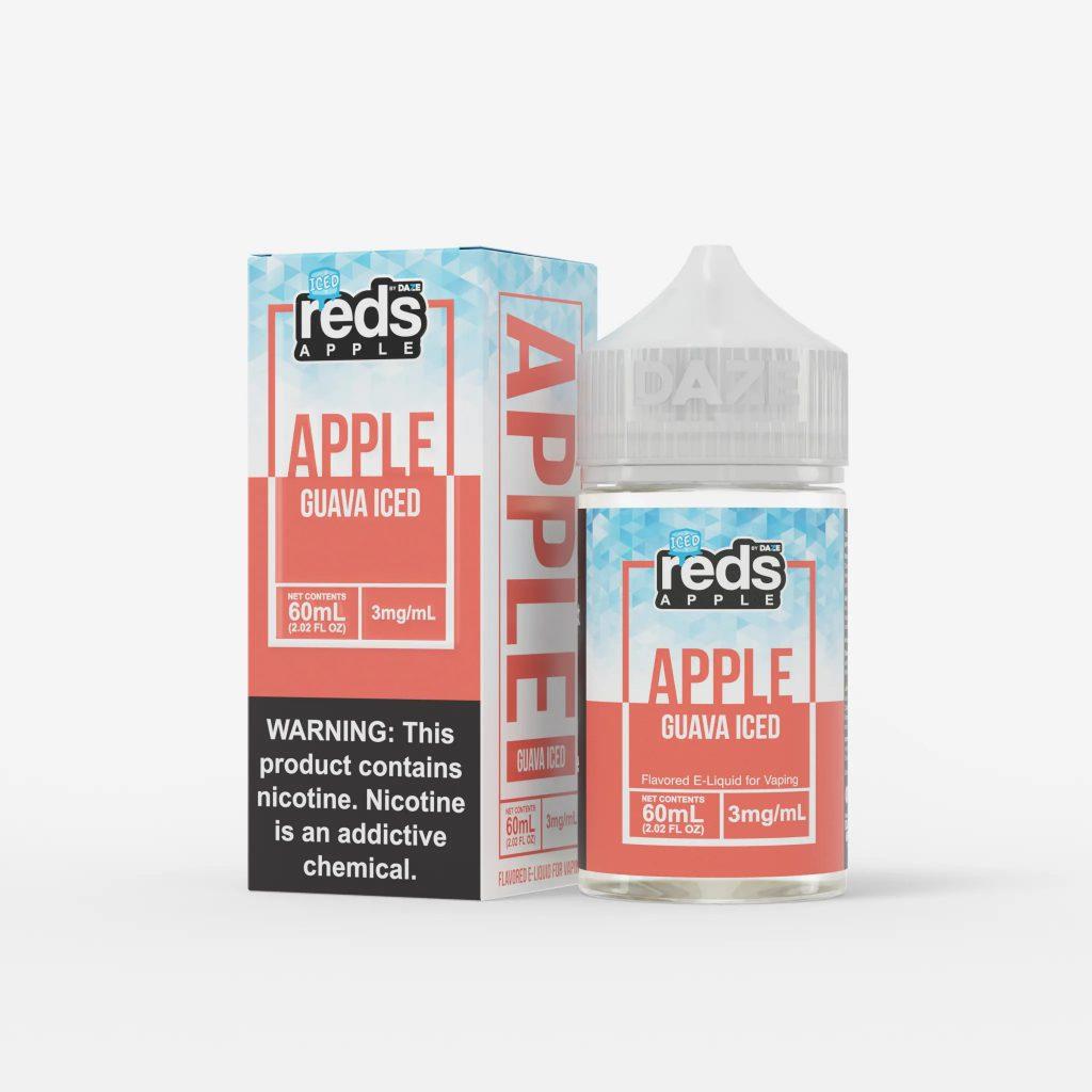 Juice Usa 7Daze Guava iced 60ml (Táo Ổi Lạnh)