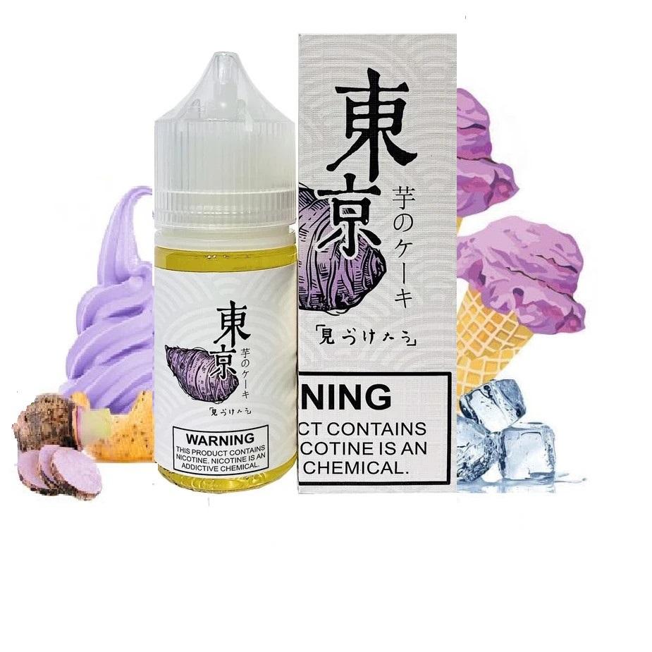 Juice Salt Tokyo Vị Môn Siêu Lạnh (Taro) 35MG-30ML