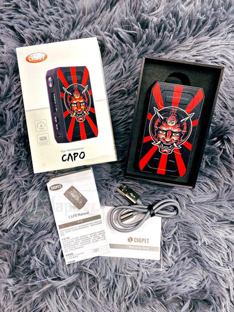 Cigpet Capo Box Mod 126W By Ijoy