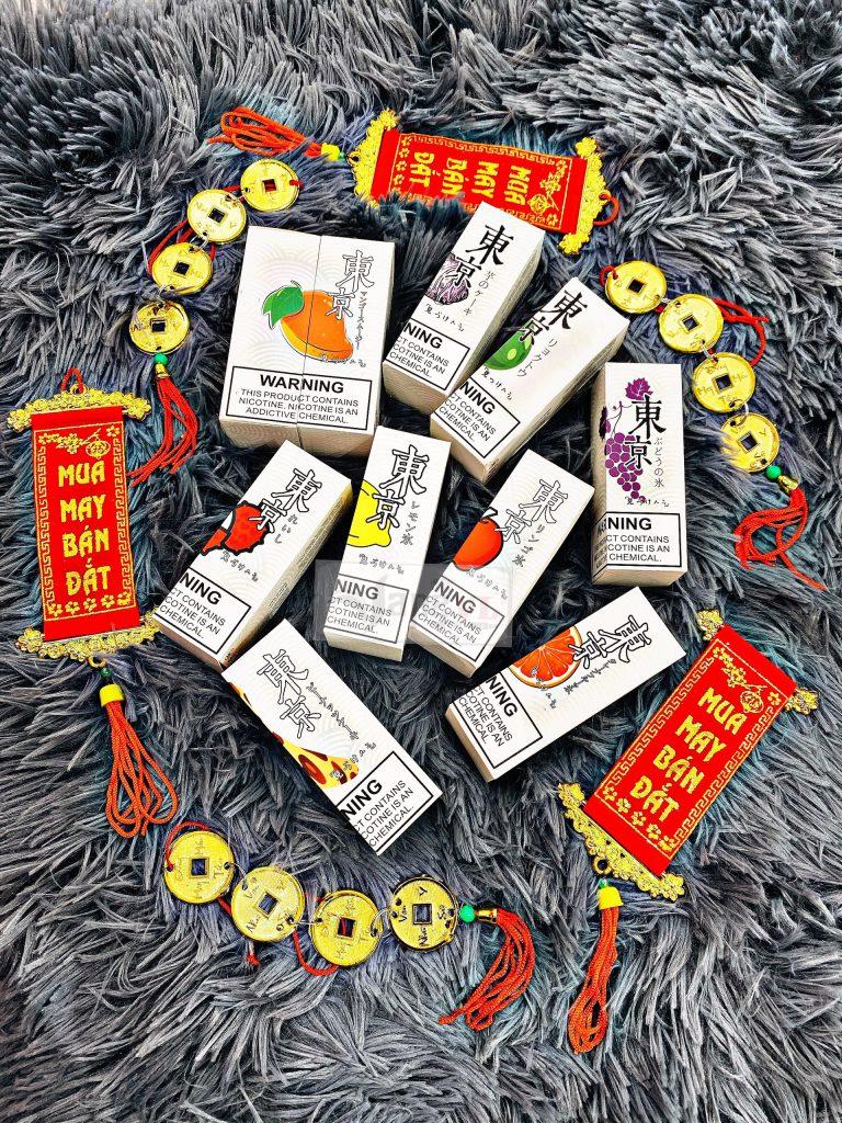Juice Salt Tokyo Vị Táo Siêu Lạnh (Apple) 35MG-30ML