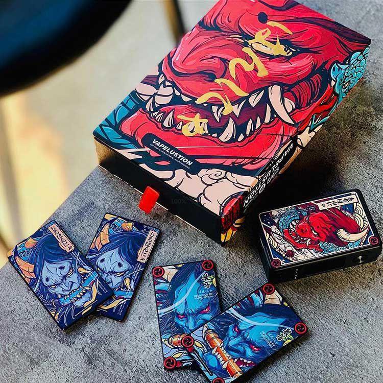 Box mod Vapelustion Hannya 230w