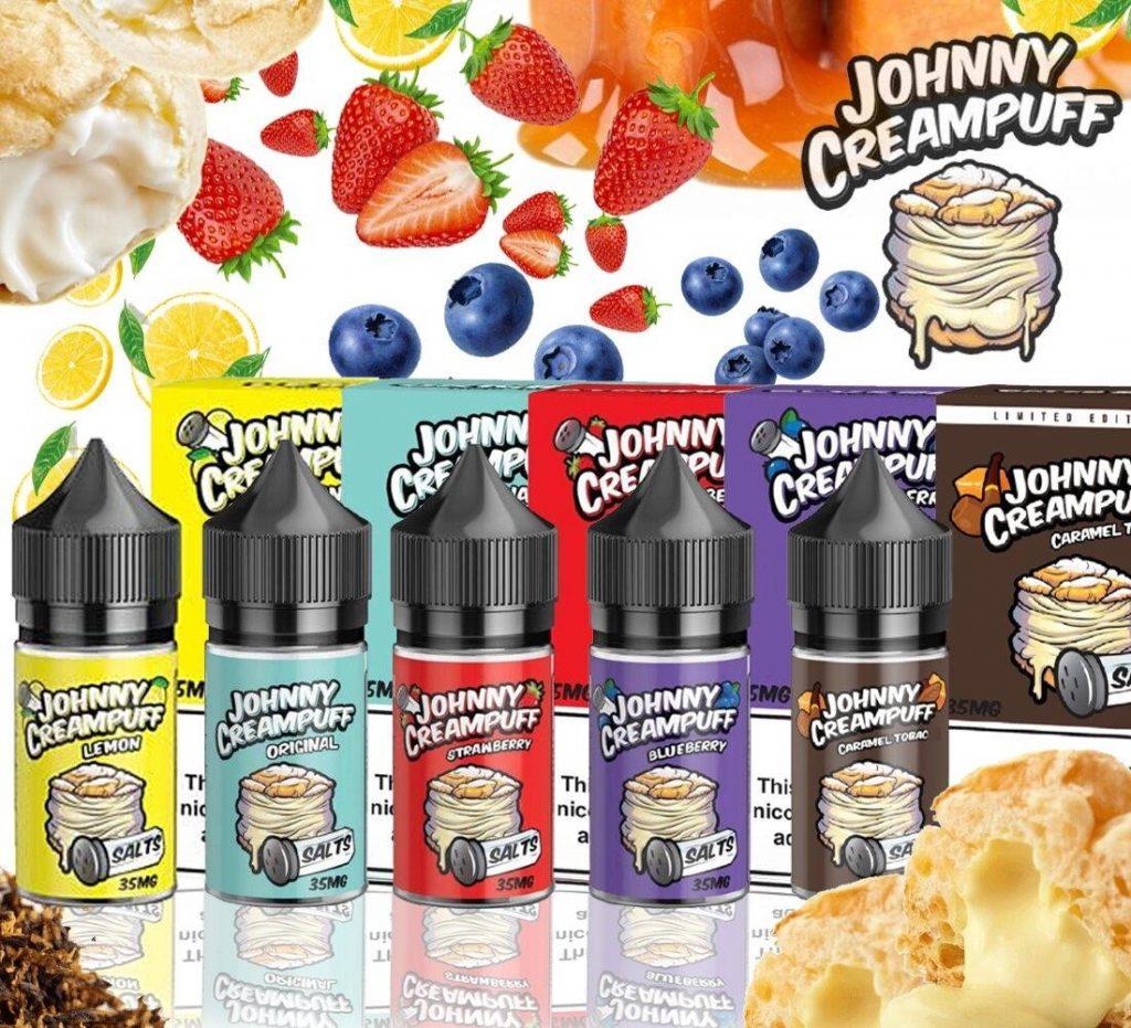 Saltnic Johnny Creampuff vị Bánh Béo 35mg-50mg/30ml