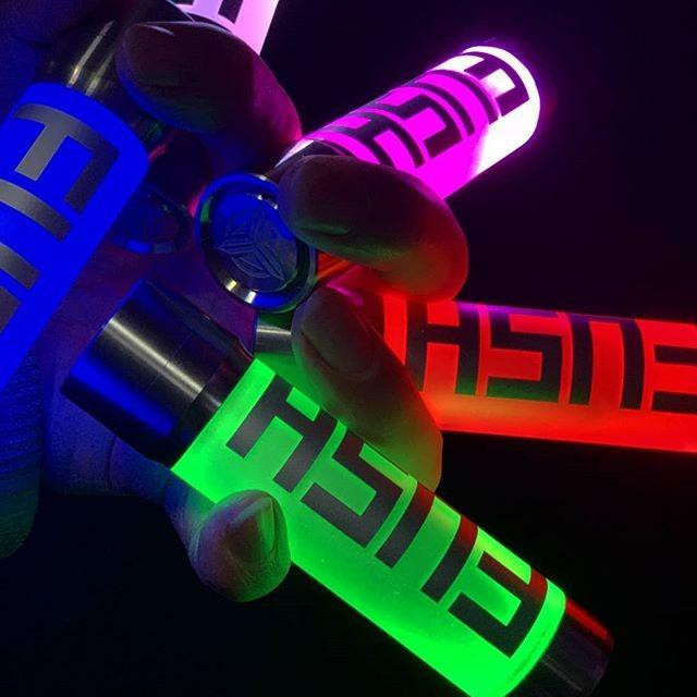 Fush Semi Mech Mod Acrohm 7 đèn led đổi màu