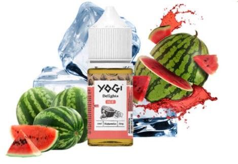 Yogi Delights Saltnic Watermelon( Dưa Hấu) Ice 35ni/30ml