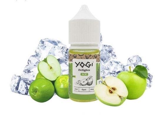 Yogi Delights Saltnic Apple( Táo Xanh Lạnh) Ice 35ni/30ml