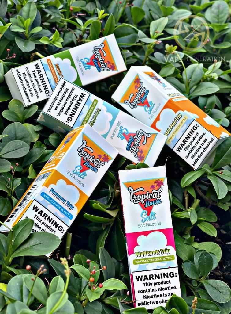 Saltnic Tropical House Highland Trip(dâu chanh mật ong) 30ml