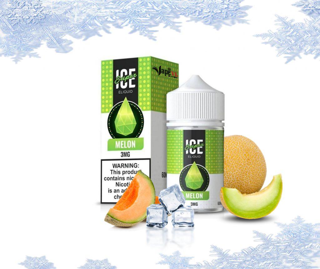 Juice Freebase | SUA Super Ice Melon – Dưa Lưới Lạnh