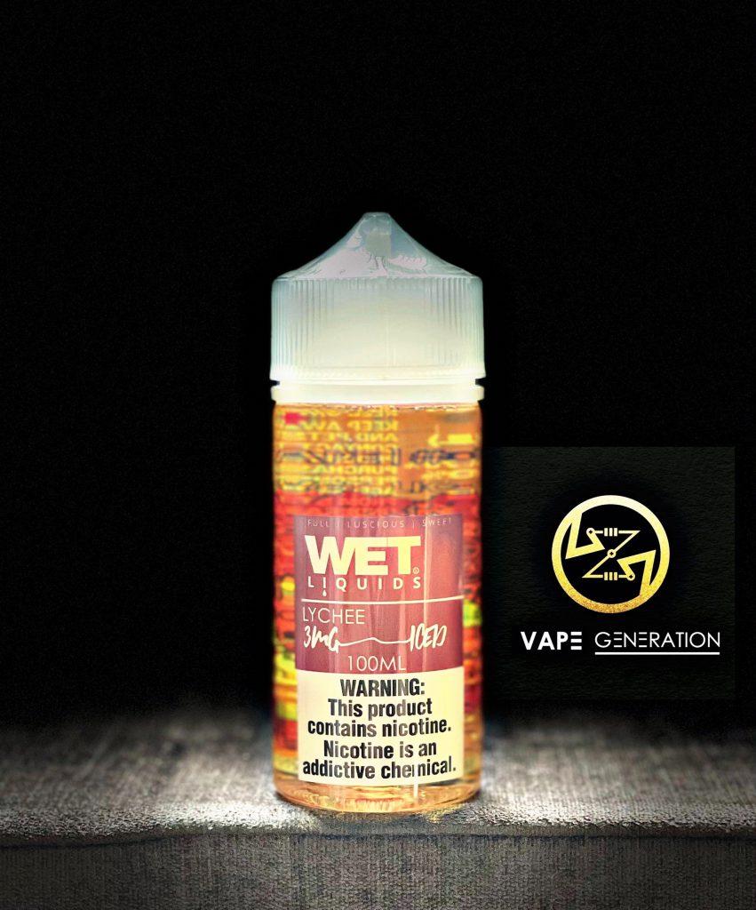 Juice Usa Wet Lychee vải lạnh 100ml