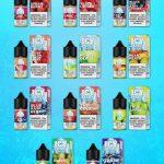 Tinh dầu Saltnic Icy Fruity – Thơm mát sảng khoái