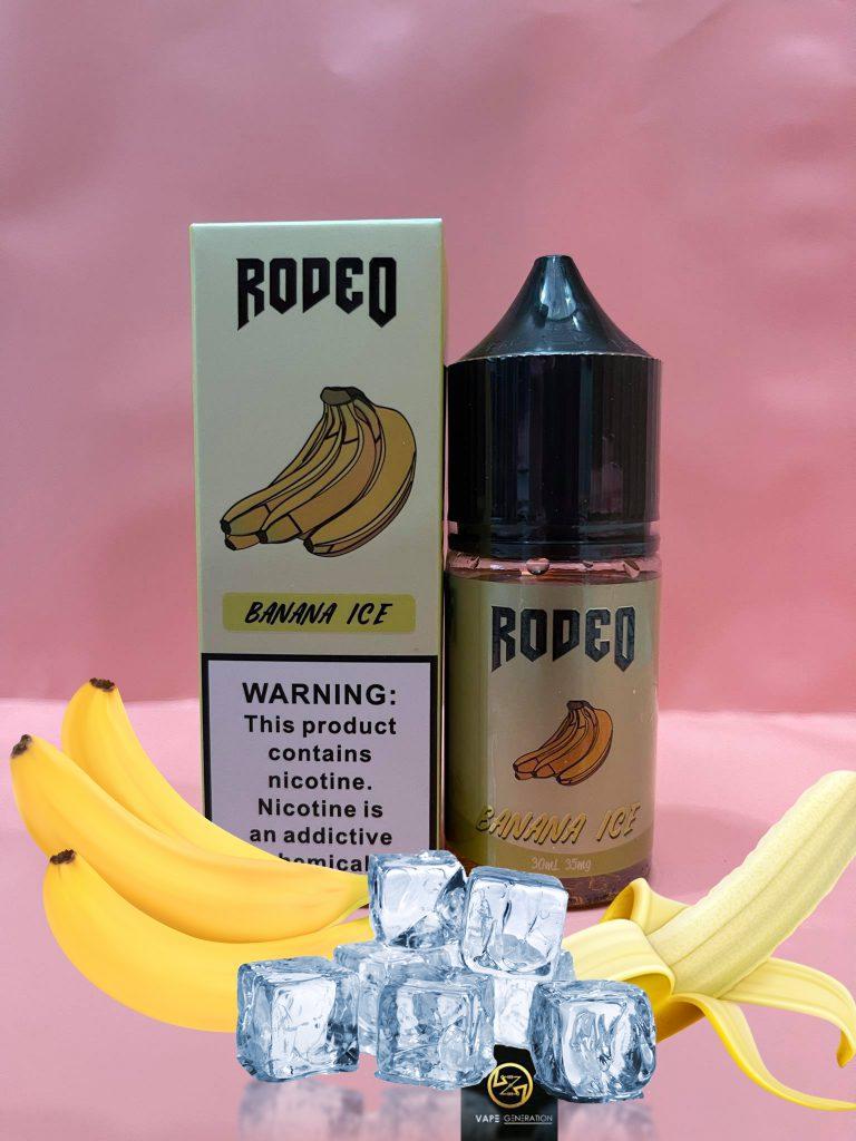 Juice Saltnic Rodeo Banana Ice – Chuối lạnh